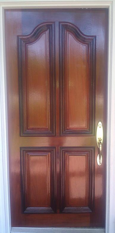 Refinishing A Door